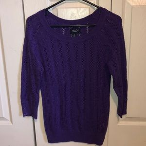 Purple AE Sweater